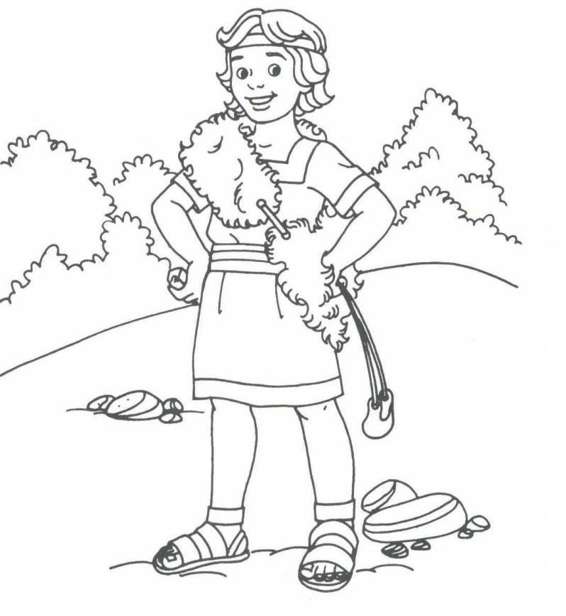 bible coloring pages king david az coloring pages