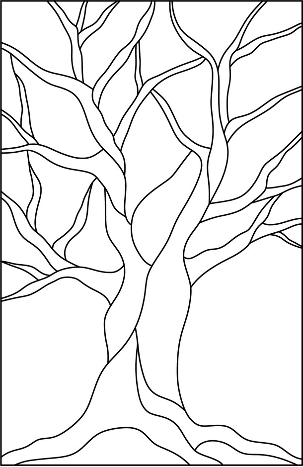 leaves coloring pages for free tree with no leaves coloring pages