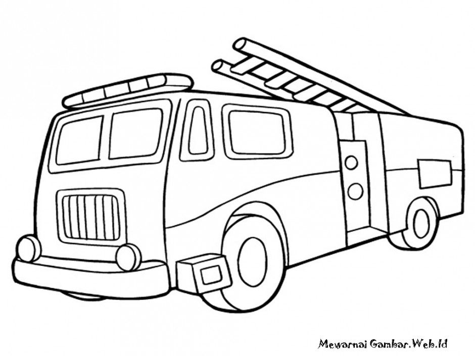 fire truck coloring pages fire truck book children learn from az