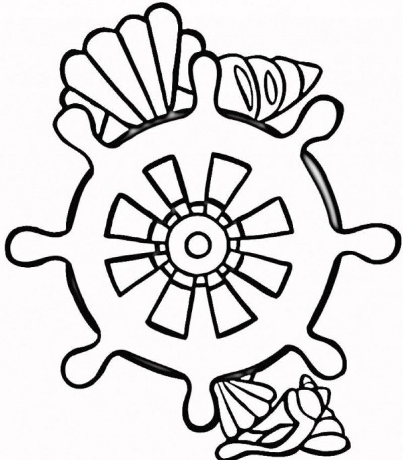 seashell coloring pages printable az coloring pages
