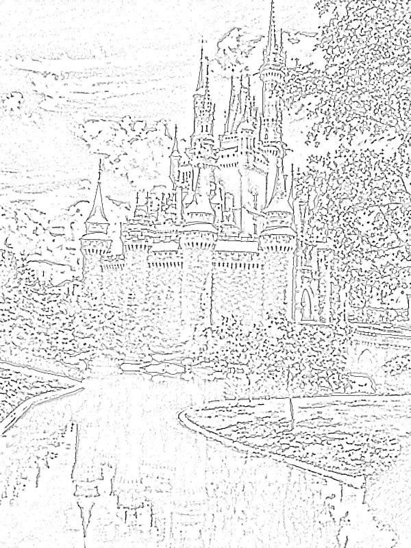 Walt Disney World Coloring Pages Free Coloring Home
