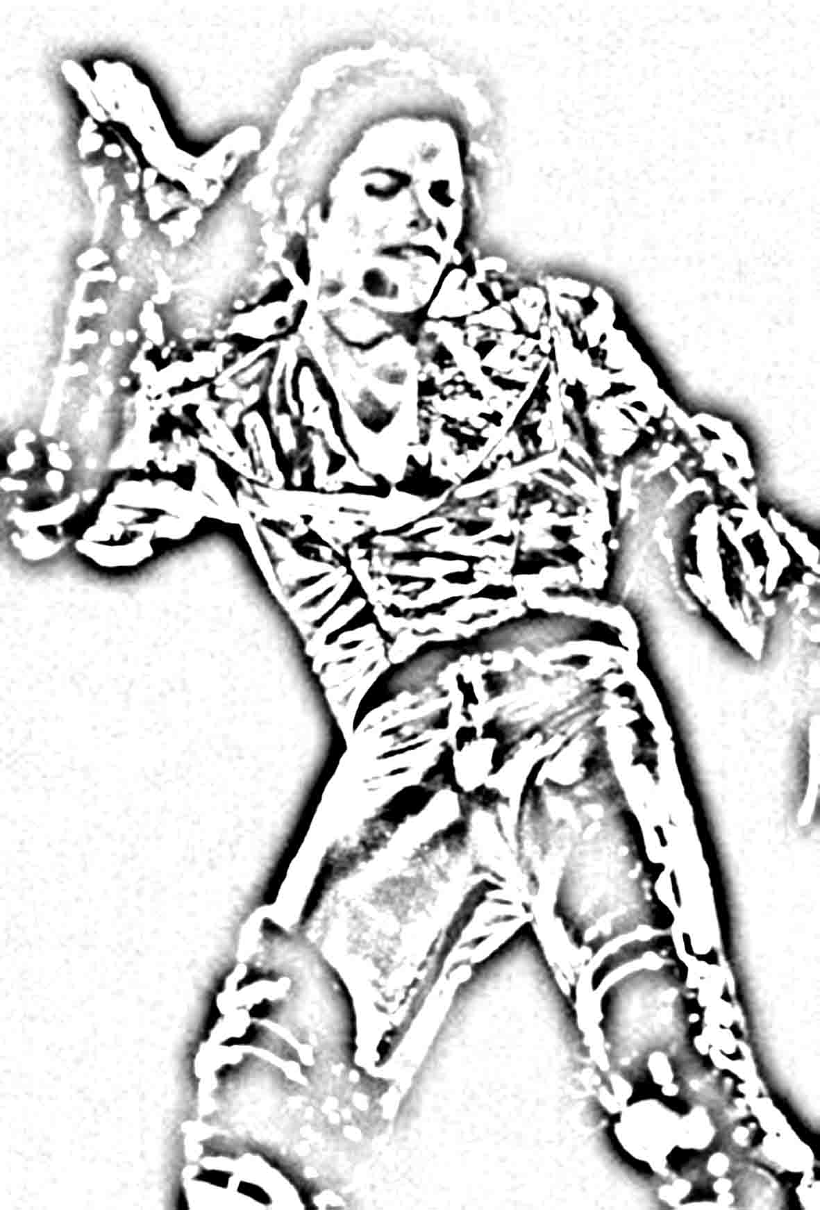 Michael jackson coloring pages thriller high quality coloring pages