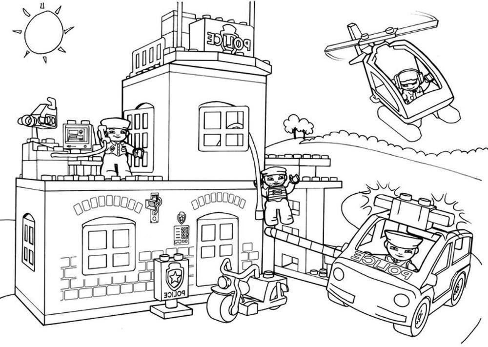 lego city downlo coloring pages coloring page