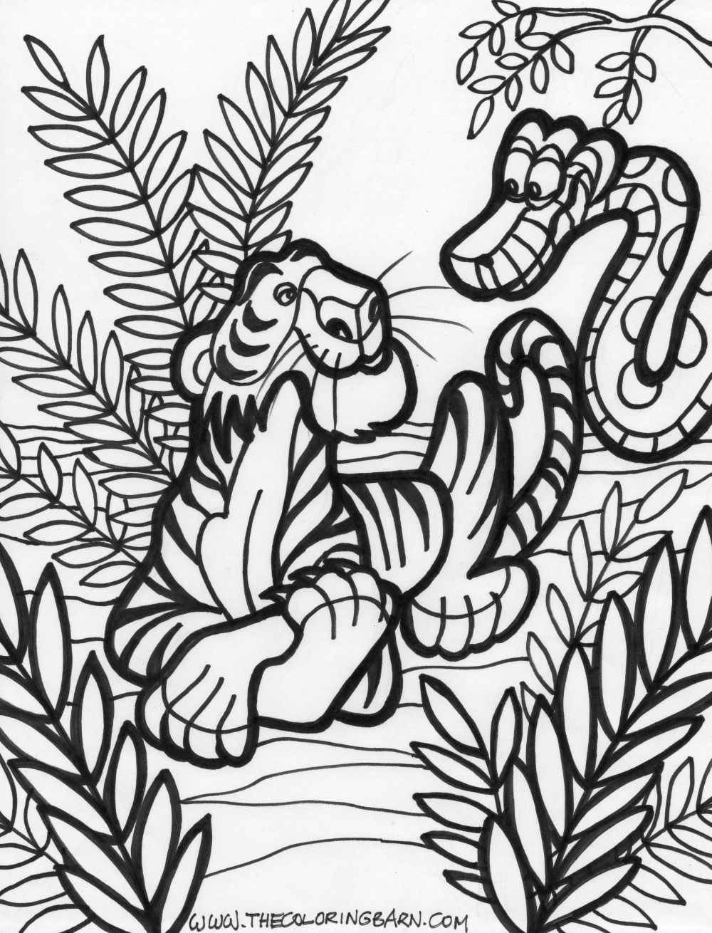 jungle printable coloring pages az coloring pages