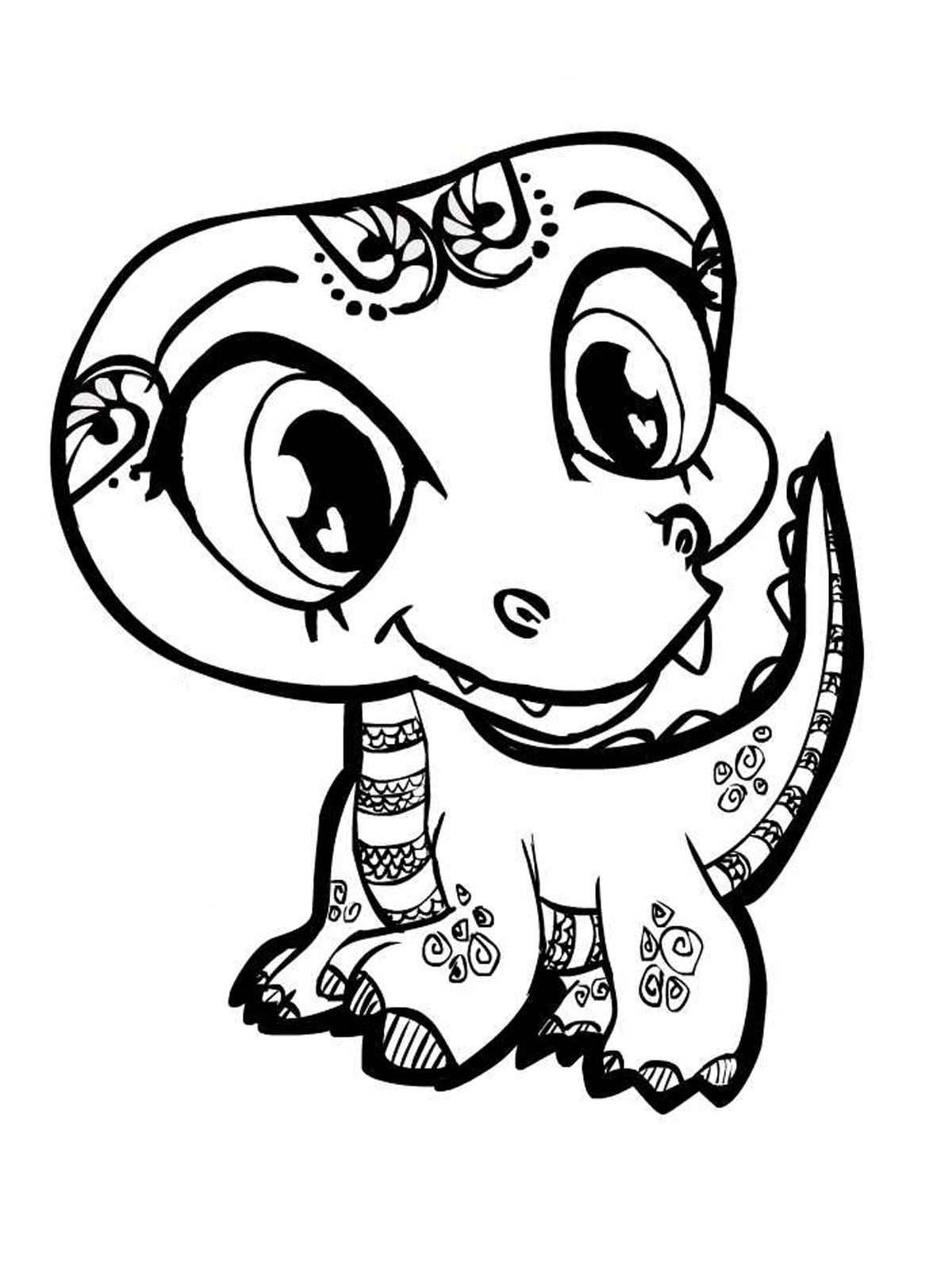 cute dinosaur coloring pages az coloring pages