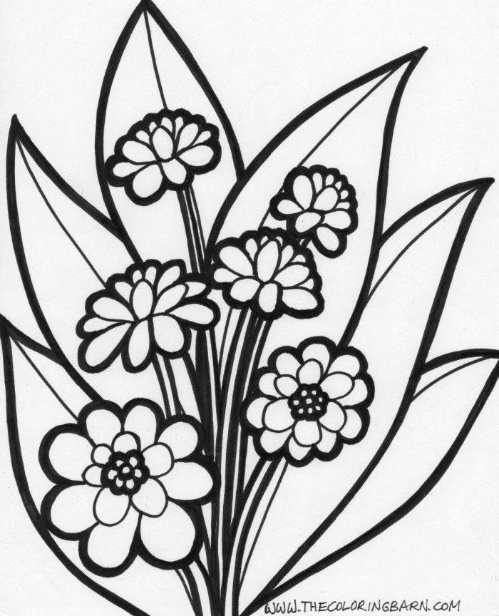 print out coloring pages flowers az coloring pages