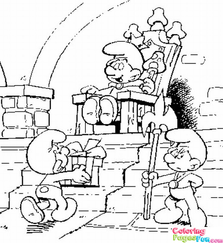 smurf 2 coloring pages coloring pages now