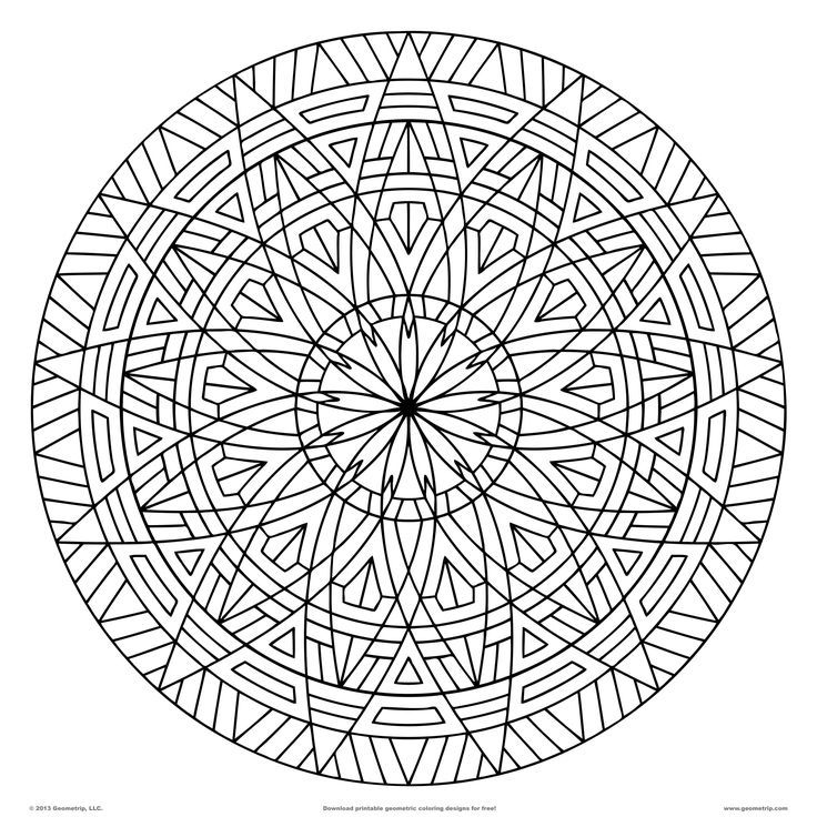 geometry coloring pages az coloring pages