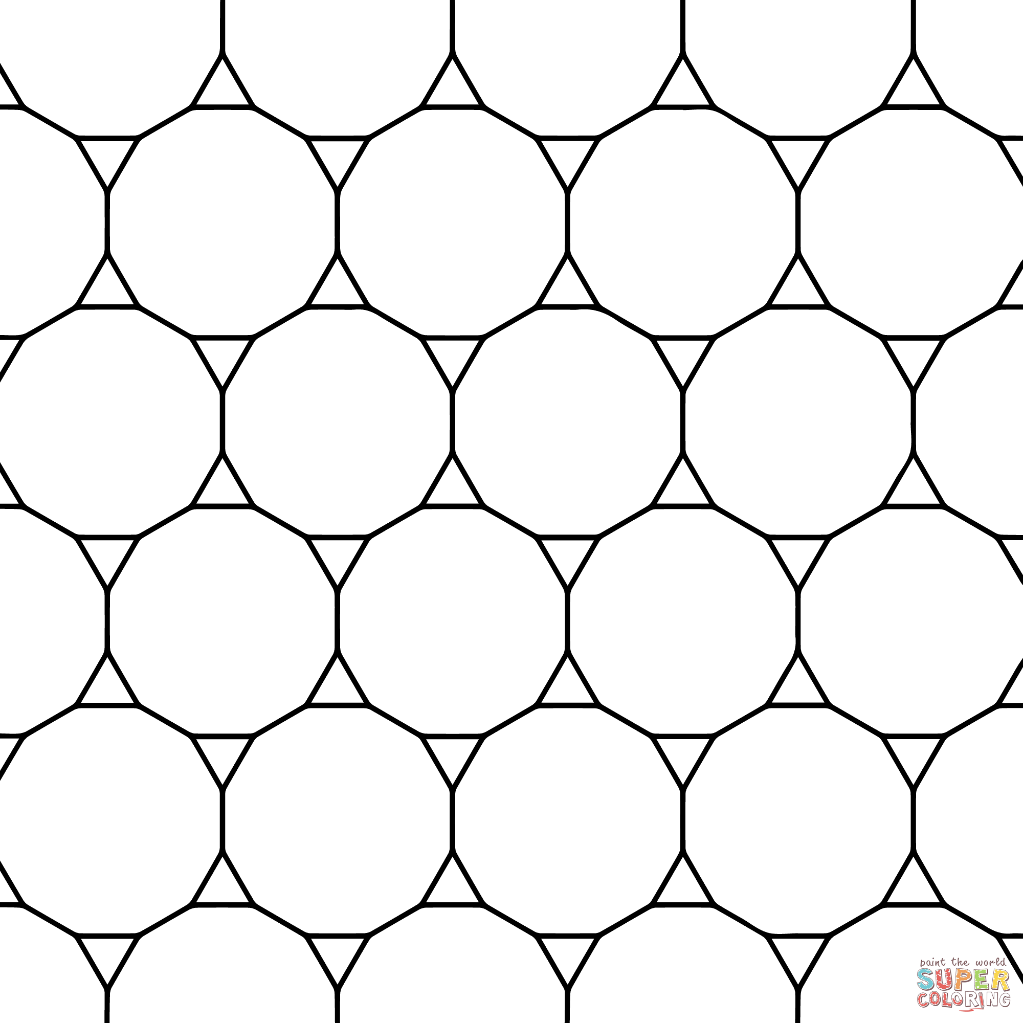 Tessellation Worksheet Grade 2