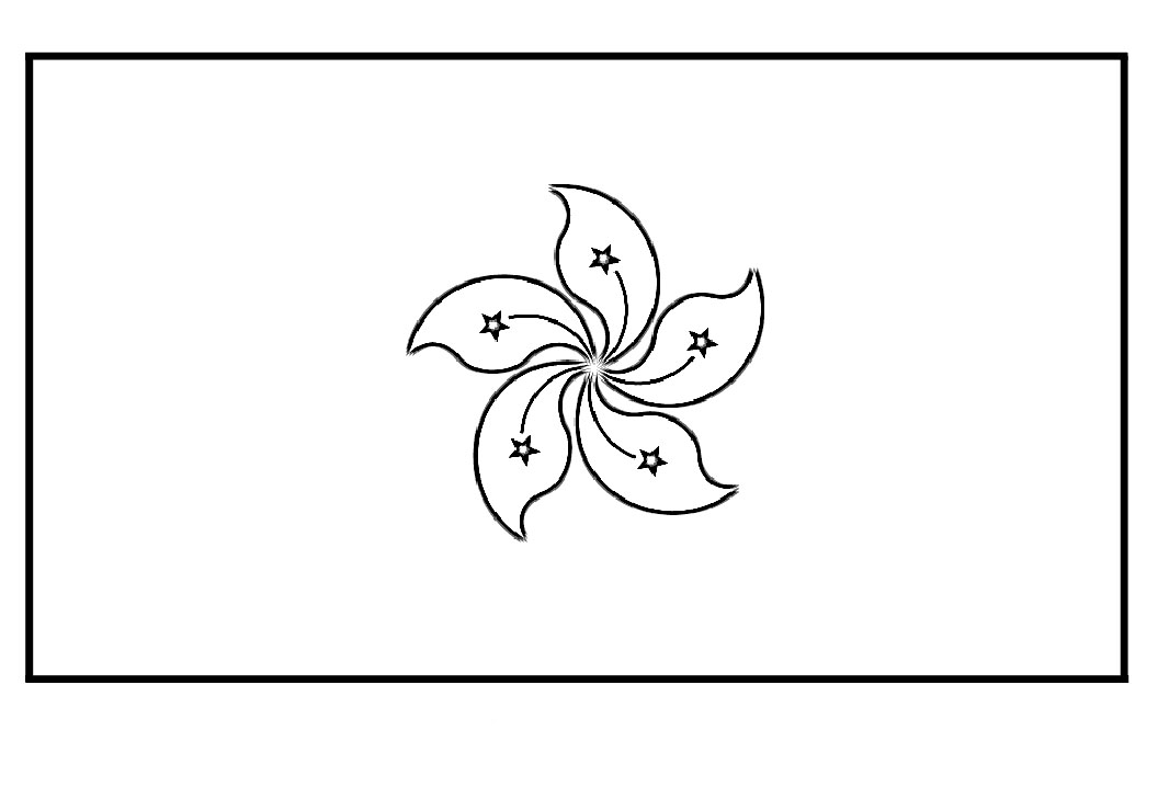 chinese flag coloring page download print pages crafts printables