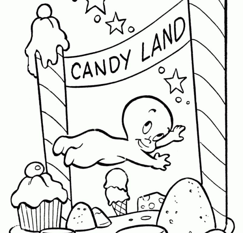 candyland coloring page az coloring pages