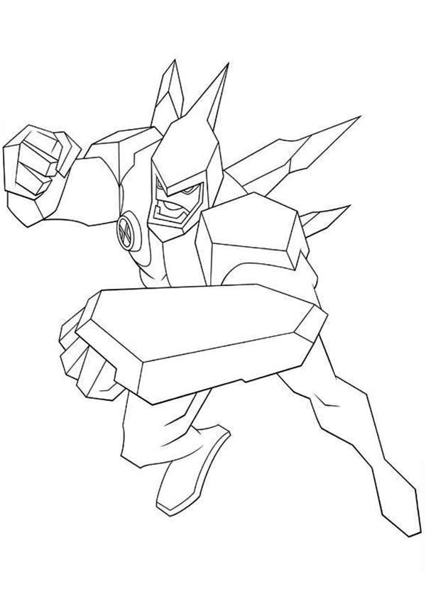 Ben 10 Omniverse Coloring Pages AZ Coloring Pages