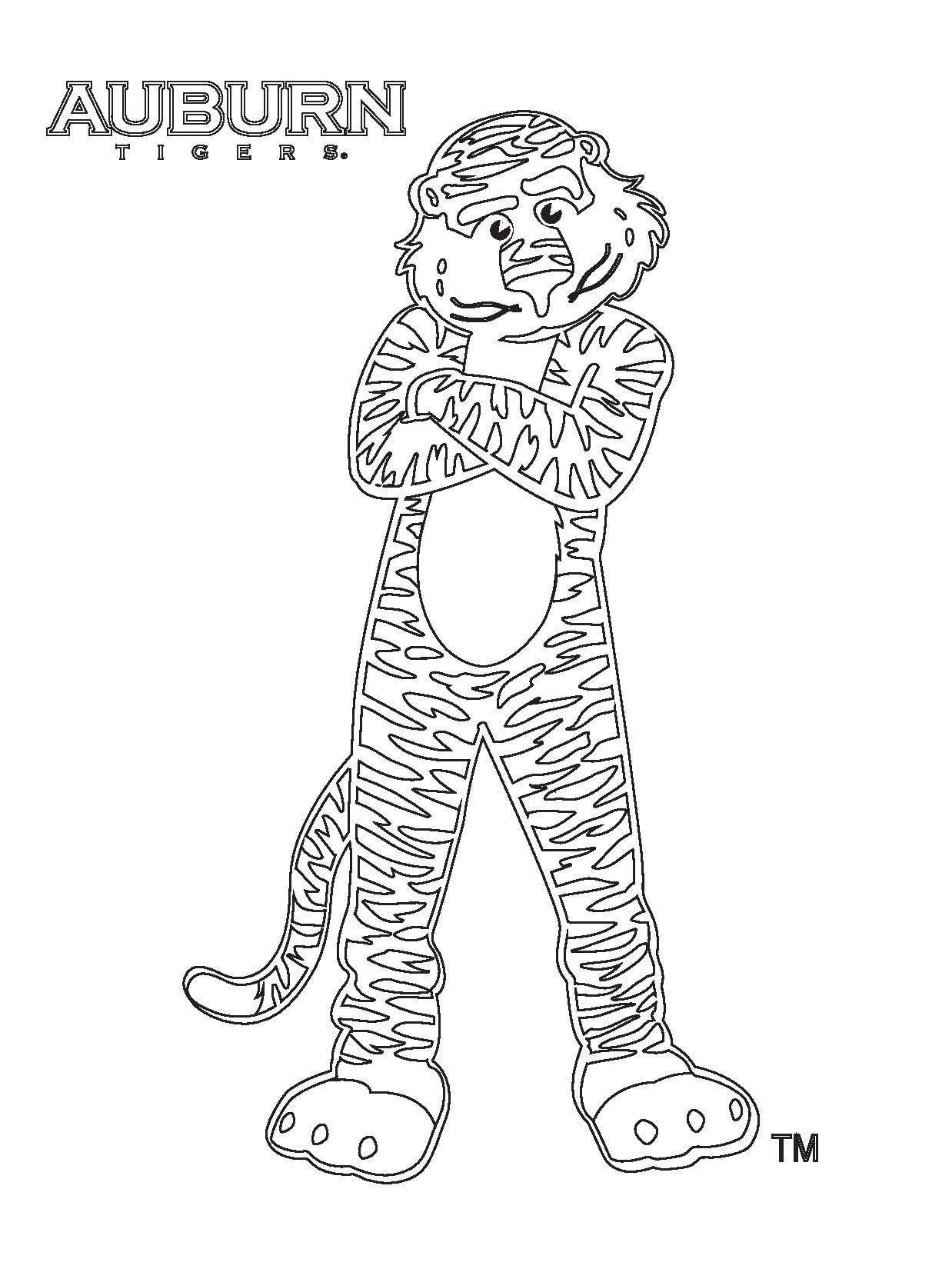 Auburn Coloring Pages What Can I Use Avocado Oil For
