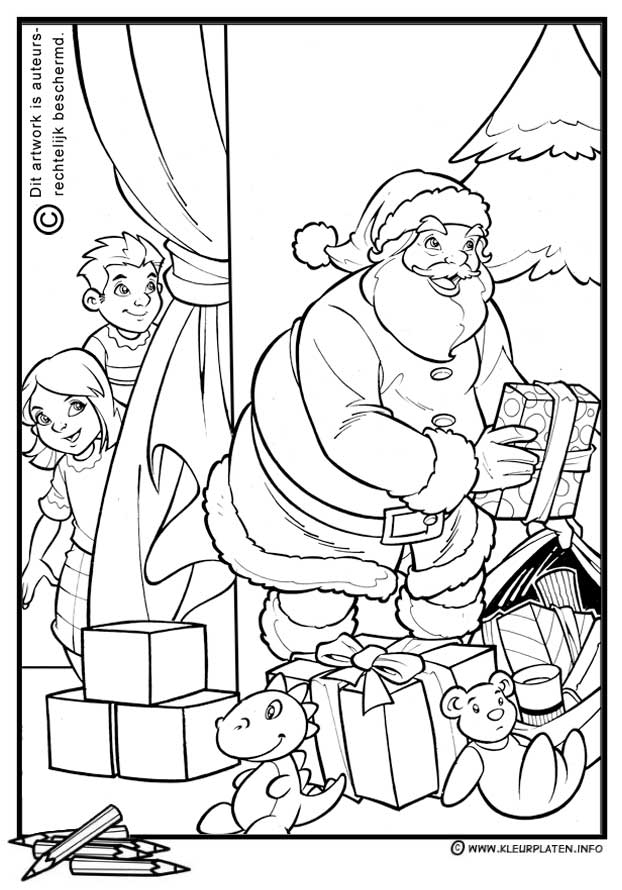 Fun Christmas Coloring Pages Coloring Home