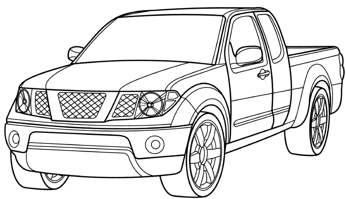 printable coloring pages trucks monster truck coloring pages