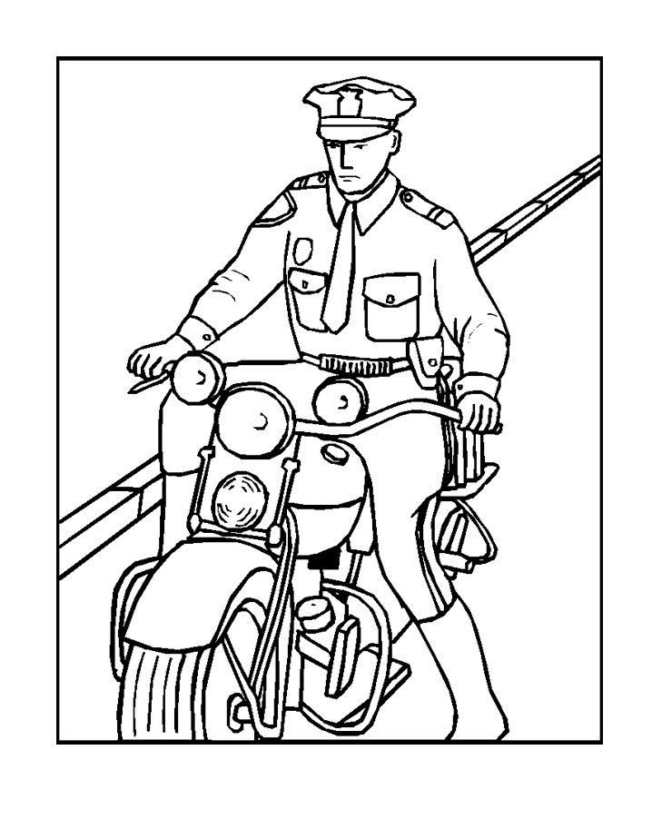 police badge coloring page police coloring pages for kids