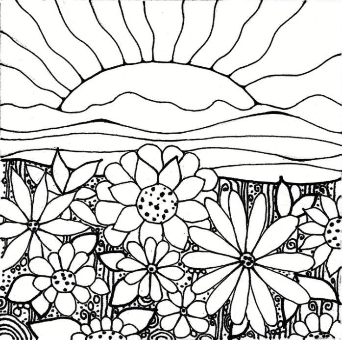 garden coloring pages printable az coloring pages