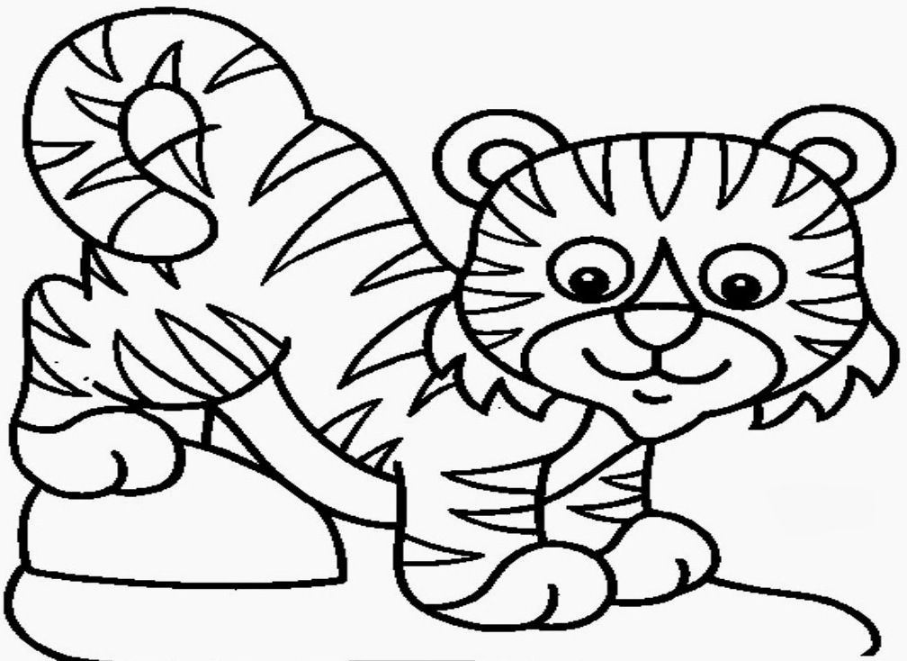 coloring pages tiger az coloring pages