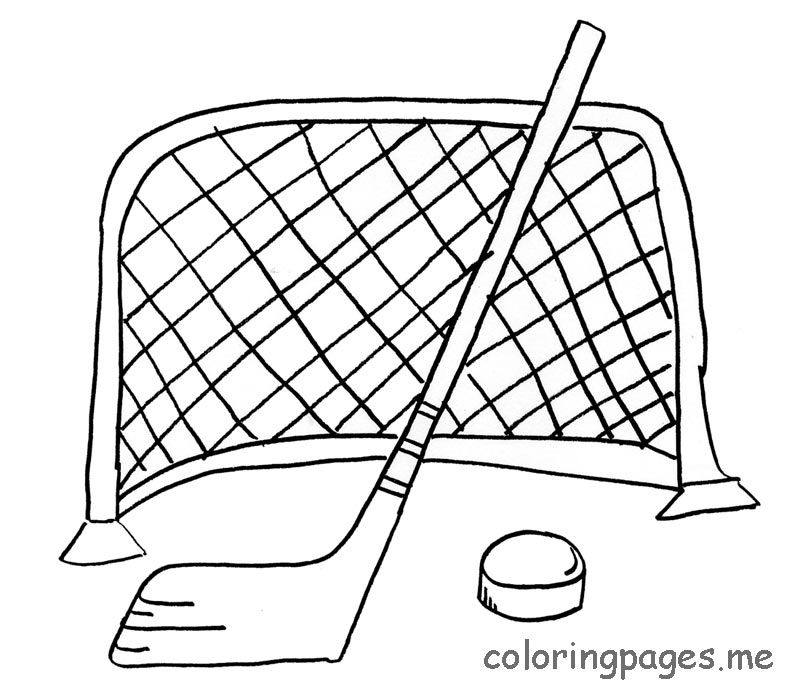 hockey coloring pages to print az coloring pages