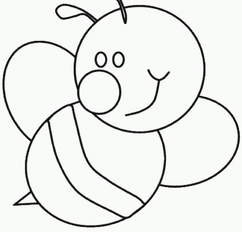 bumble bee pictures to color hd printable coloring pages