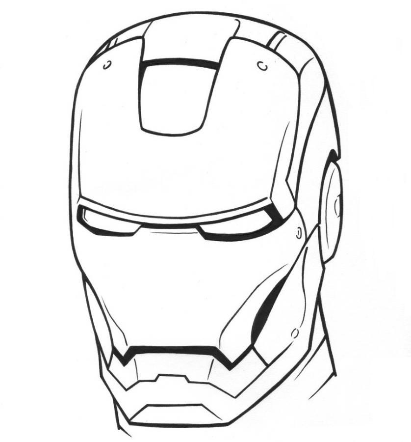 ironman coloring pages for kids az coloring pages