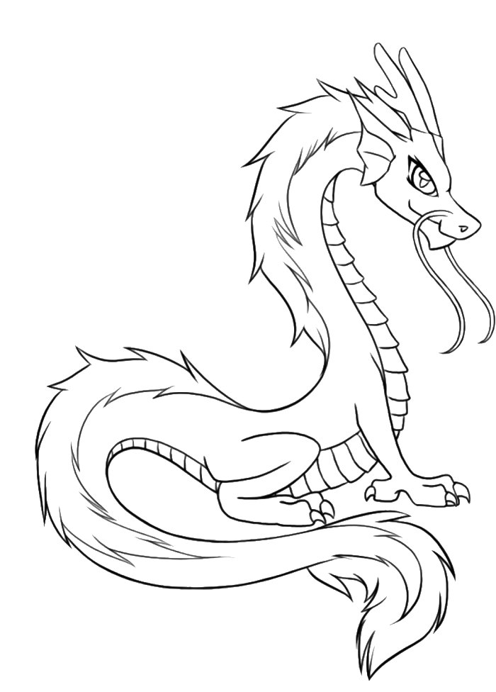 chinese dragon coloring page az coloring pages