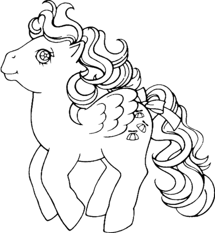 pony coloring pages to print az coloring pages