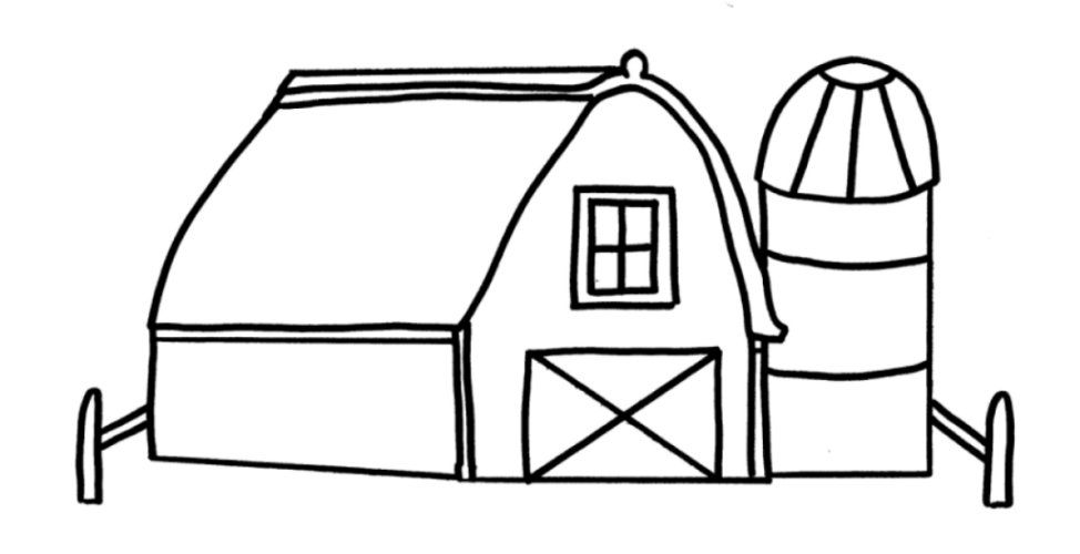farm animals barn coloring pages printables printable coloring