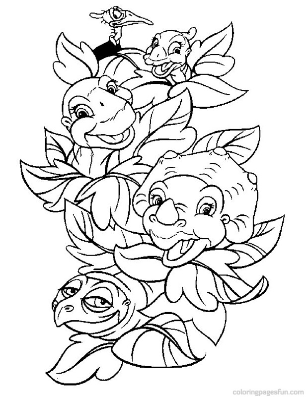 baby dino coloring pages 6 free printable coloring pages
