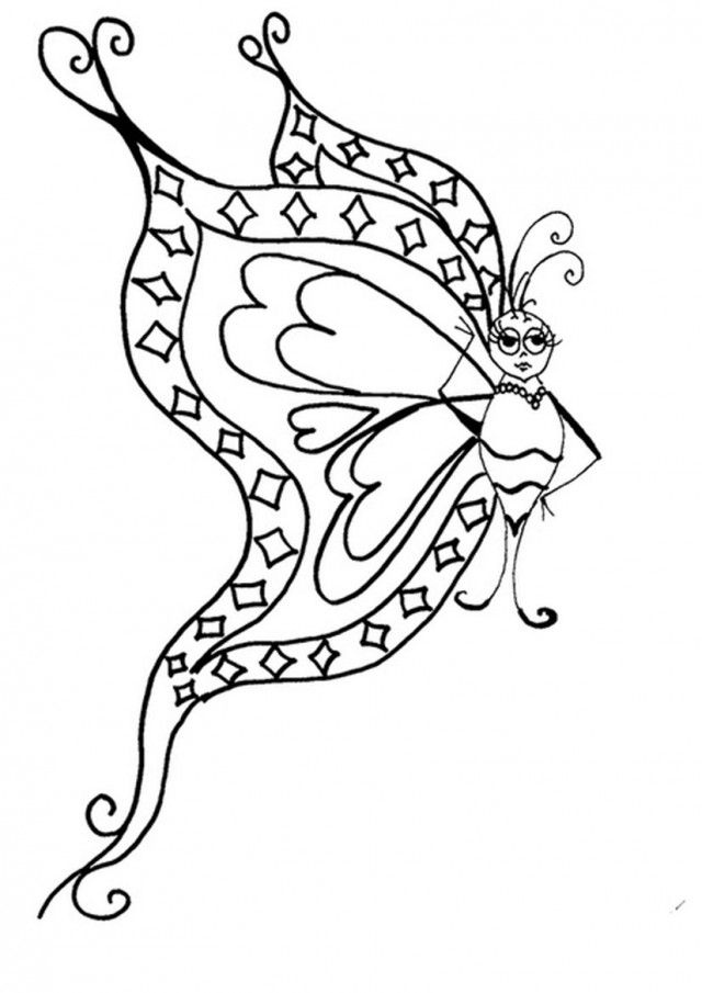 butterfly coloring sheets free coloring pages 267945 az coloring