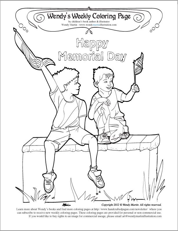 memorial day color pages az coloring pages