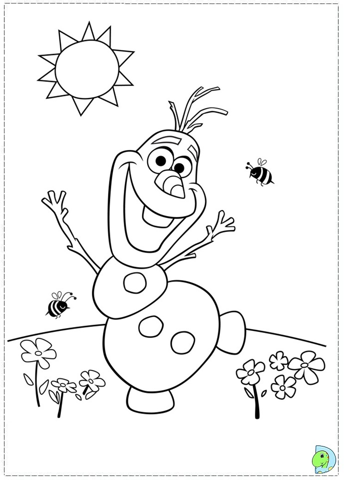frozen character coloring pages olaf free coloring pages