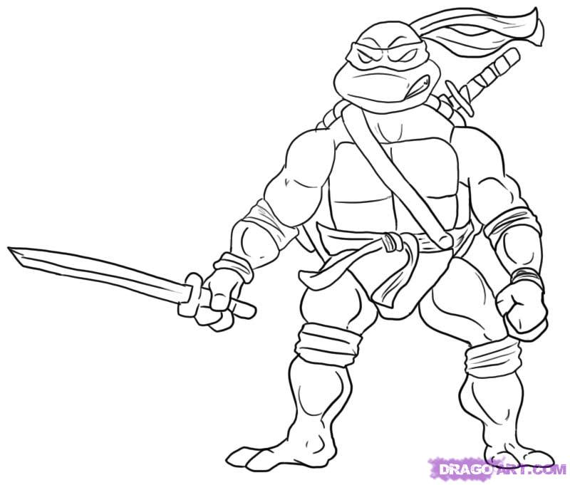 teenage mutant ninja turtle coloring pages printable coloring pages