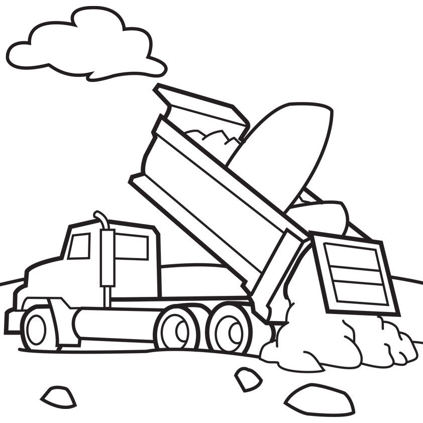 tow truck coloring pages az coloring pages