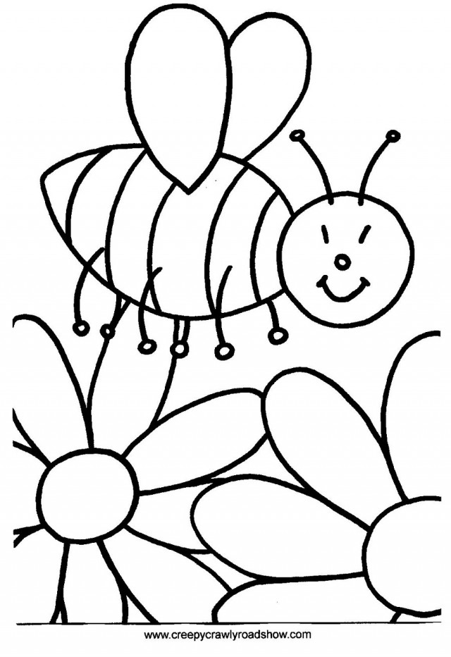 bumble bee coloring pages cartoon bumble bee coloring pages 198323
