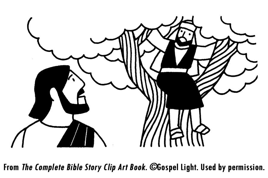 Bible Coloring Pages Zacchaeus AZ Coloring Pages