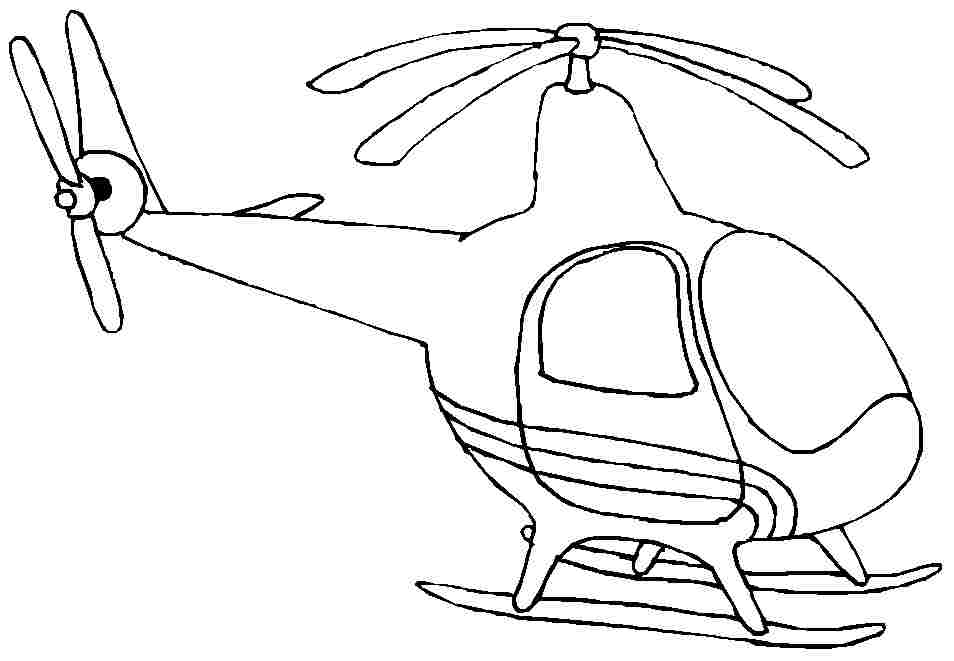 helicopter activities colouring pages page 2