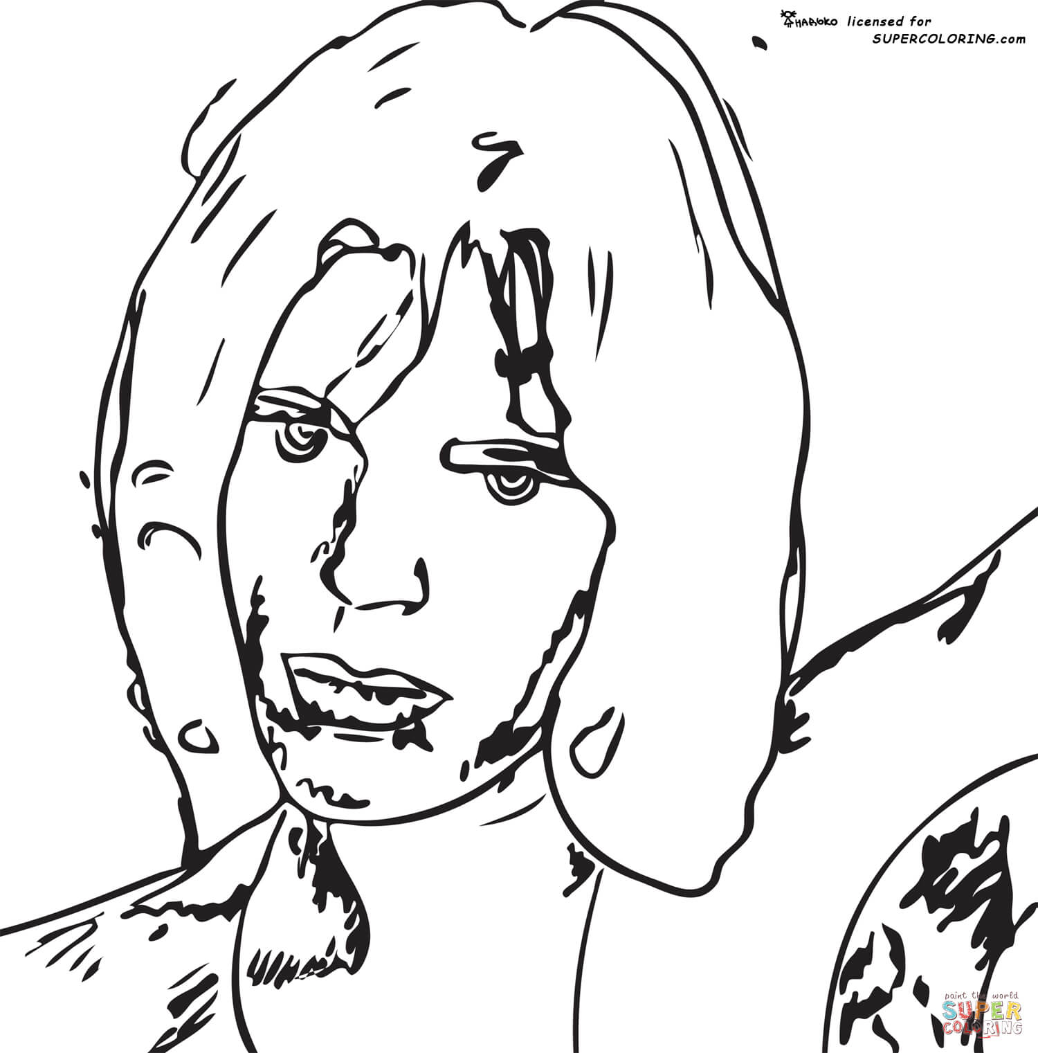 Andy Warhol Coloring Pages Free
