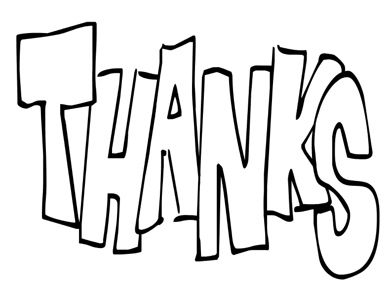 thank you coloring pages for kids az coloring pages