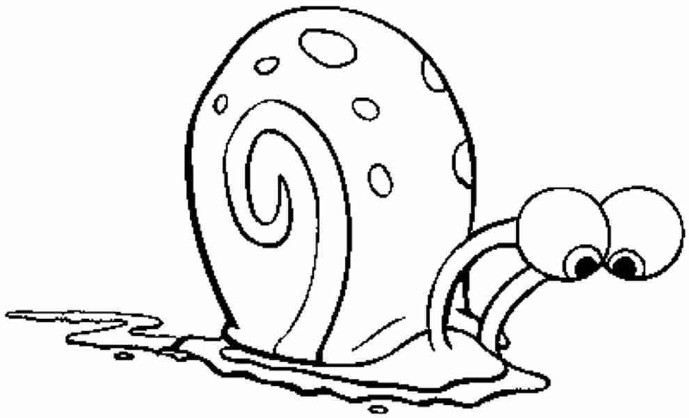 snail coloring page az coloring pages