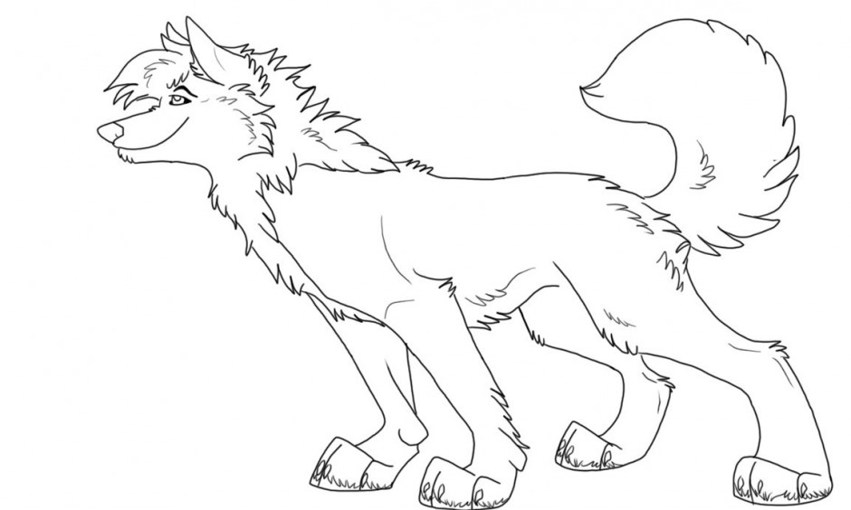 printable baby wolf coloring pages cooloring com