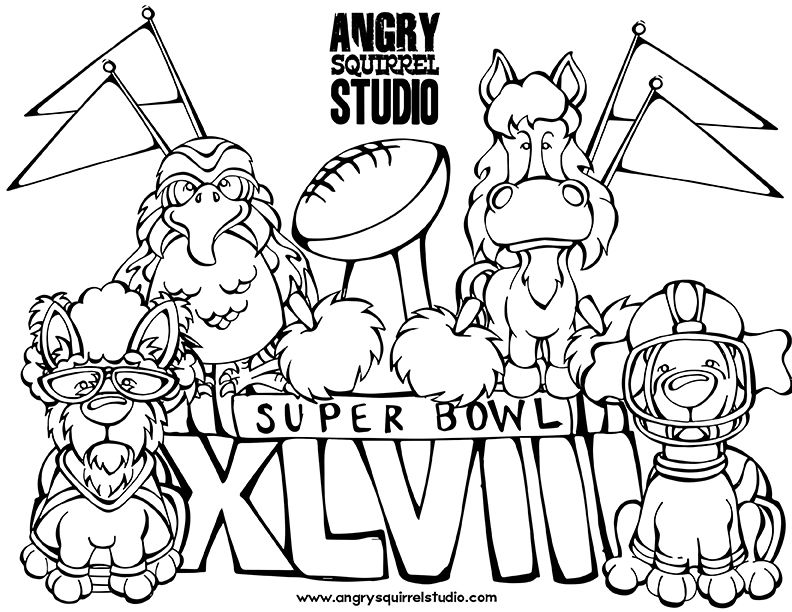 superbowl coloring pages az coloring pages