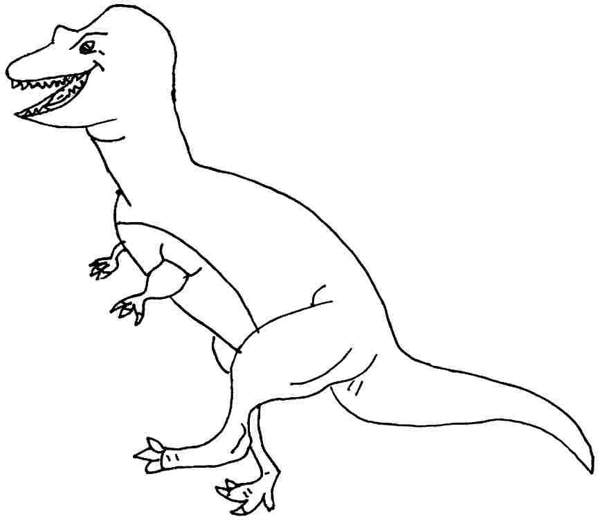 allosaurus coloring page az coloring pages