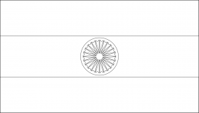 india flag coloring page az coloring pages