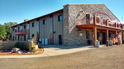 Camp Verde Community Library, Exterior, Grand Opening