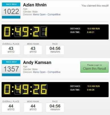 A great 1-2 finish by myself, and more so for my training partner. Full results here.