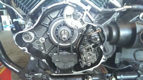 2005 Yamaha VStar 1100 Starter Clutch Replacement   My blog…