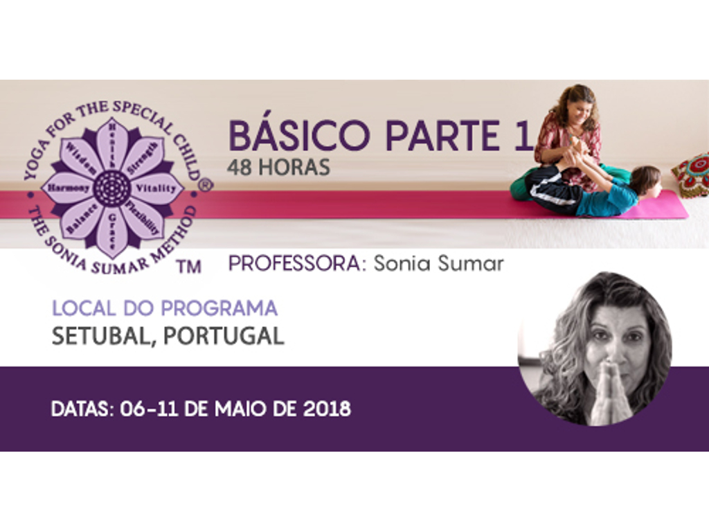 Curso Yoga - 06 the 11 May 2018