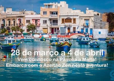 Vem connosco na Páscoa a Malta!