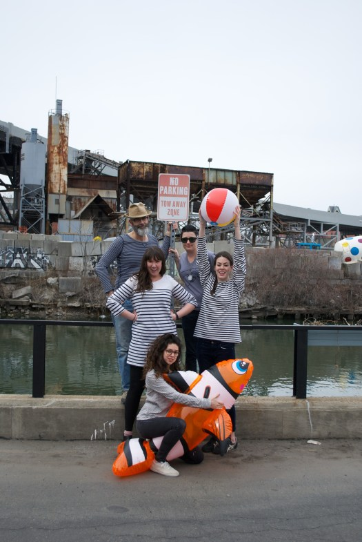 GSS at the Gowanus Canal, March 2014